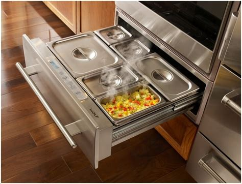 Warm Drawer by 15 Kitchen Appliances That You Would To