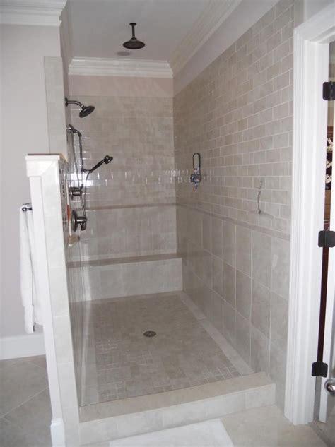 No Door Shower Walk In Showers Without Doors Photos