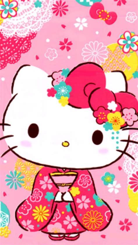 imagenes de hello kitty vestida de tigres hello kitty hello kitty pinterest キティ サンリオ インテリア壁紙