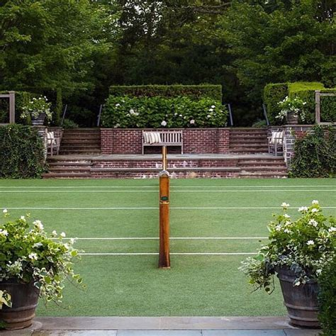 backyard tennis courts best 25 backyard tennis court ideas on tennis