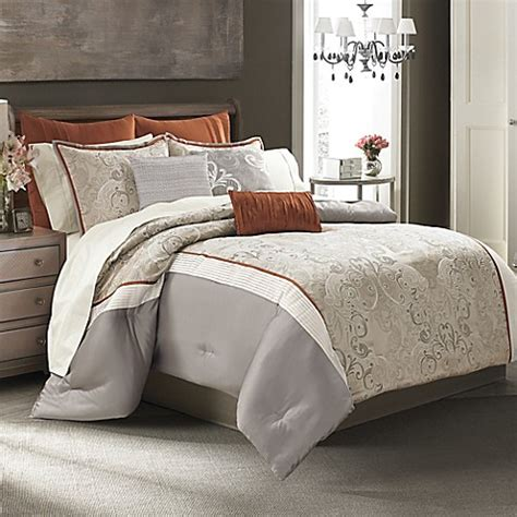 manor hill 174 deco opulence comforter set bed bath beyond