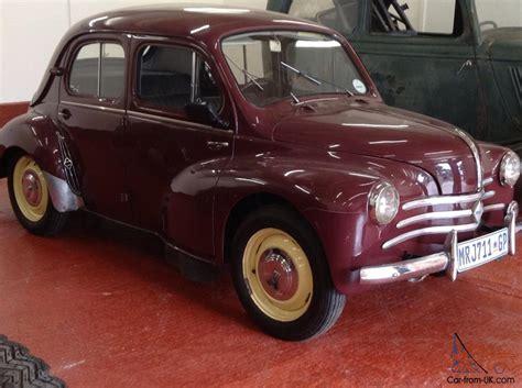 1959 renault 4cv 1959 renault 4cv beetle fiat