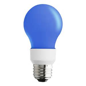 Blue Led Light Bulb Shop Sylvania Blue Led A19 Specialty Light Bulb At Lowes