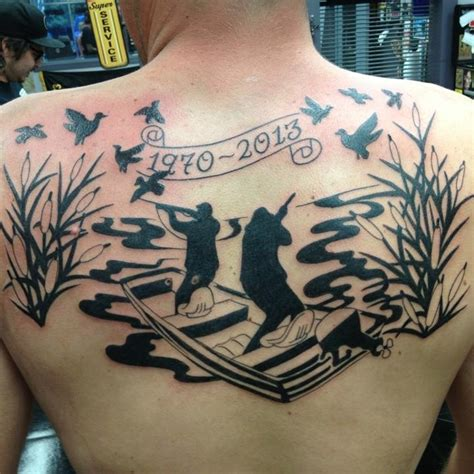 duck hunting tattoos designs ideas and meaning tattoos