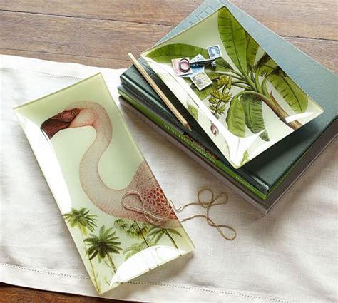 Decoupage A Tray - tropical decoupage trays pottery barn