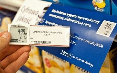 Shelf Edge Labels by Advanced Labels Introduced By Tesco Cee Packaging