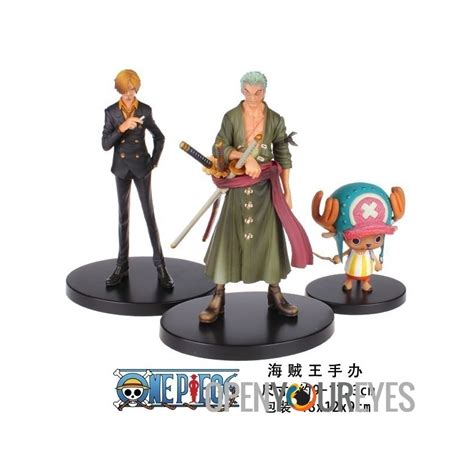 1 Set Sanji Yonji Barto Figure one set zoro sanji tony chopper figure onepiece pirate of the caribbean