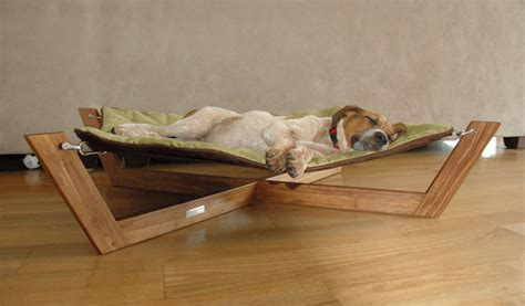 hammock for dogs bambu pet hammock gives your dog a stylish bed