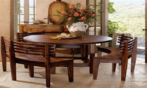round dining table with bench kitchen table and chairs with bench black kitchen