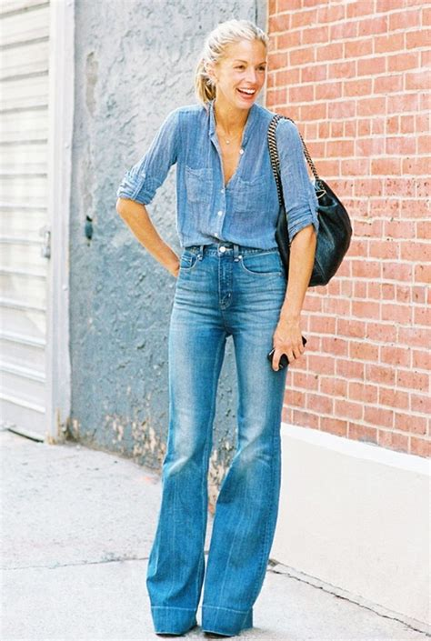 are flare jeans in style in 2015 9 street style snaps that will make you want to wear