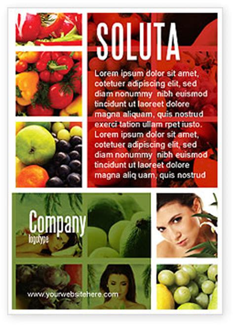 nutrition ad template  advertising  id