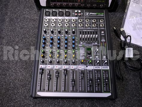 Mixer Mackie Second mackie profx8 v2 compact mixer w box 2nd rich