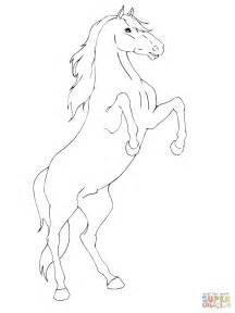 coloring pages of horses rearing 301 moved permanently