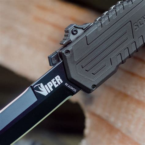 schrade viper schrade viper otf assisted opening pocket knife dagger