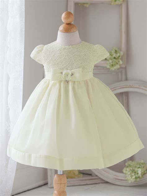baby dress baby ivory vintage charm lace dress