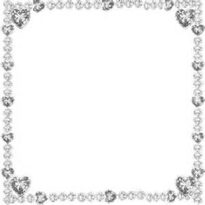 jewel hearts glitter frame silver 169 esme4eva2015 esme4eva glitter animated sparkle frame