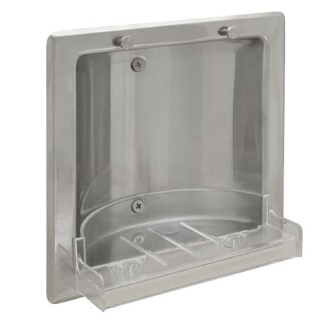 Stainless Steel Soap Dish recessed bright stainless steel soap dish holder