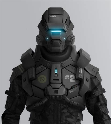 Future Warrior future warrior armor robot war up by