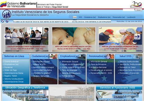 ciudadano a ivss instituto venezolano de los seguros ivss cuenta individual