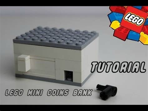 lego bank tutorial lego mini coins bank tutorial youtube