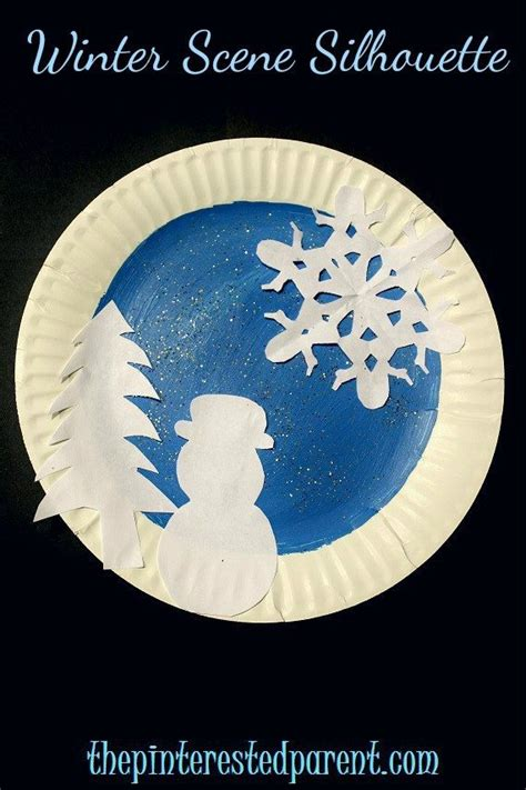 Winter Paper Crafts - paper plate winter crafts the pinterested parent