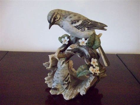 home interior masterpiece figurines homco home interior masterpiece porcelain mockingbird