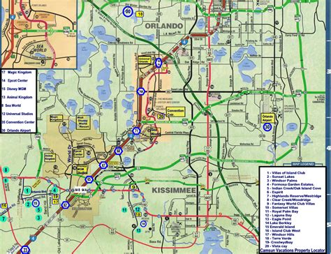 orlando florida map image gallery orlando map