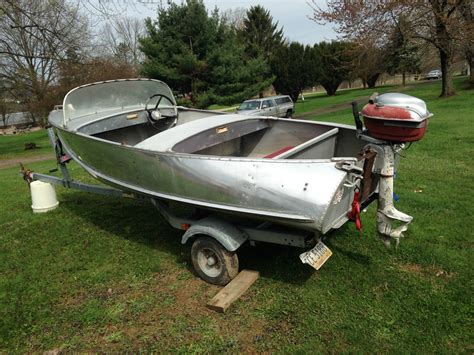 feathercraft boats feather craft deluxe runabout 1954 for sale for 200