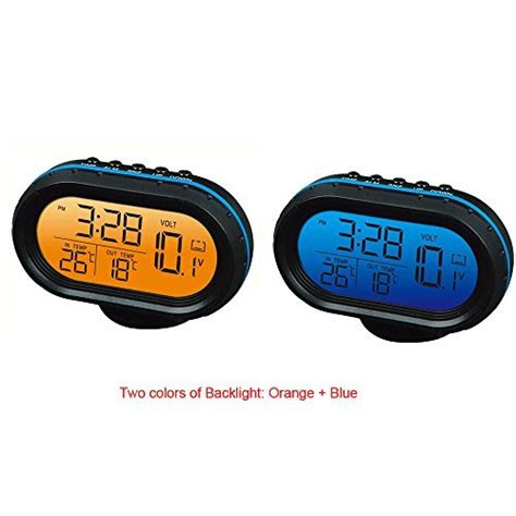 Promo Auto Voltage Detector Car Volt Meter 12v 24v Accu Mobil automotive thermometers find offers and compare