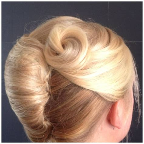 large hair pleats modern twist on the traditional pleat hair up