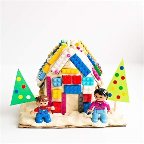 lego gingerbread house dough clay crafts archives fun family craftsfun family crafts