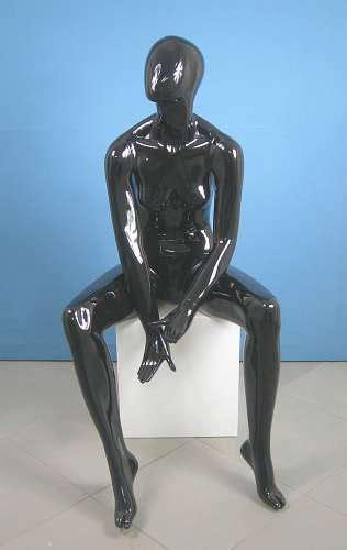manichino seduto 659 donna manichino seduto stilizzato