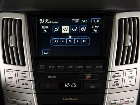 lexus rx 2008 interior 2008 lexus rx hybrid prices reviews and pictures u s