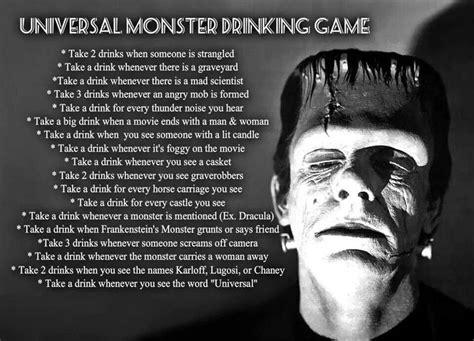 halloween drinking games drinking game for scary movie marathons fright night
