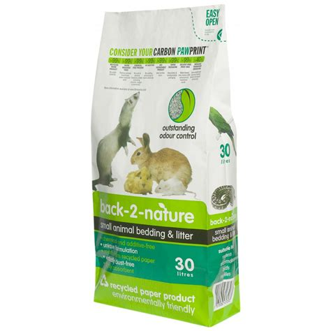small animal bedding fibrecycle back 2 nature small animal bedding 30 litre