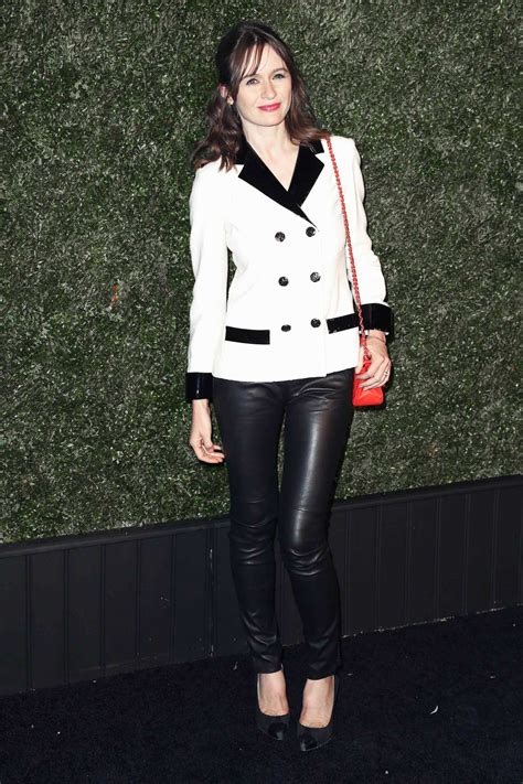 emily mortimer attends   annual chanel tribeca film
