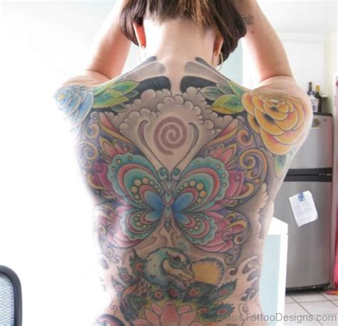 butterfly music note tattoo designs 84 excellent on back
