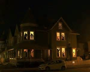 Spooky House Decorations For Halloween Spooky Diy Halloween Decor Haunted House Silhouettes