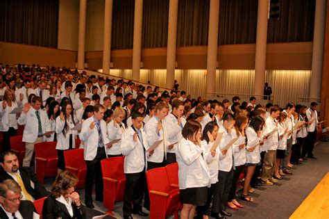 ceremony in class of 2016 participates in ub s pharmacy practice white