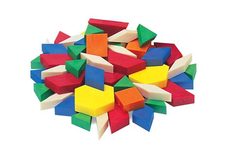 shape using pattern blocks jar of 250 hollow plastic pattern blocks harleys the