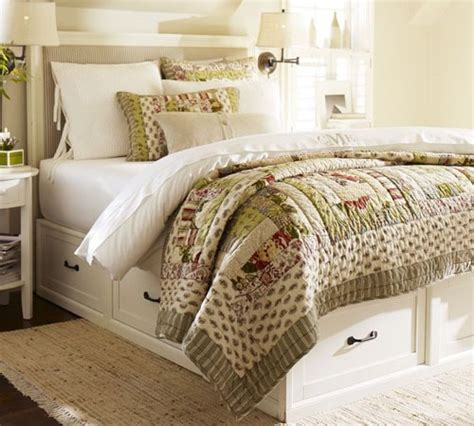 Pottery Barn Stratton make your own platform bed storage discover woodworking projects
