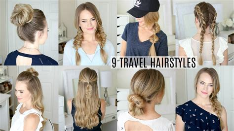 Hair Styles Travel by 9 Easy Travel Hairstyles Sue
