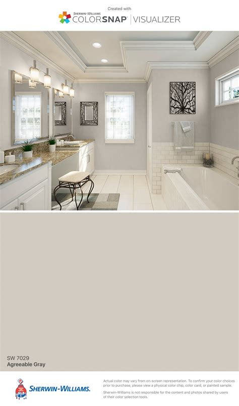agreeable gray  sherwin williams   real