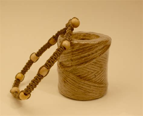 Macrame Knots Hemp - how to end a macrame bracelet ehow