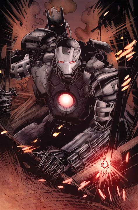 Iron War Machine Comic war machine spin moving forward collider