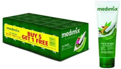 Sabun Medimix Ayurvedic Bath Soap 18 Herbs medimix classic ayurvedic 18 herbs soap 75 gm 5 1 offer pack wash 100 ml buy medimix