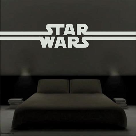 star wars bedroom decals star wars decal murals entertainment decals primedecals