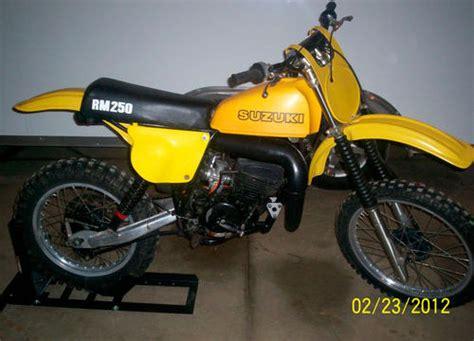 1978 Suzuki Rm 250 1978 1 2 Suzuki Rm 250 For Sale Oh
