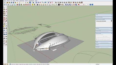 sketchup layout que es formas concavas y convexas con sketchup 2 youtube