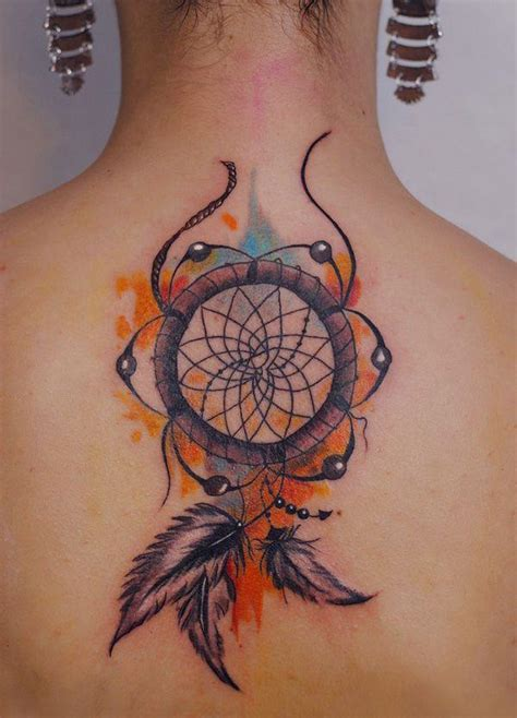 dream catcher tattoo with color 60 dreamcatcher tattoos to keep bad dreams away
